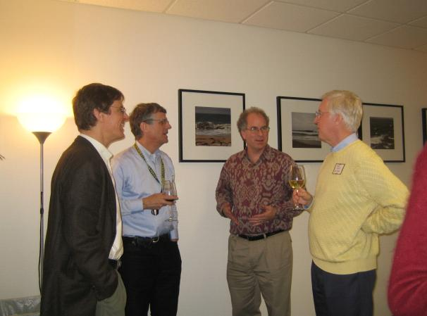 Jeff Ubois, Stu Weibel, Brewster Kahle, and Thom Hickey