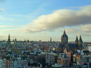 Amsterdam, view from the Doubletree Hilton. Photo by Screenpunk, cc by-nc 2.0