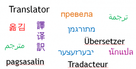 Translator in different languages