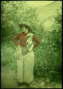 Cowgirl , Mrs. Benjamin F. Russell, George Eastman House [via Flickr]