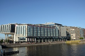 Our meeting venue, close to the Centraal Station.