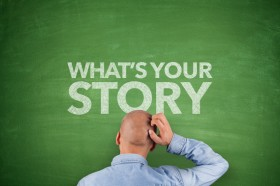 What´s your story on blackboard