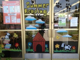 """Paws to read,"" Garden Grove Chapman Branch, Orange County Public Library, 2014"