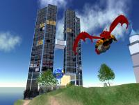 Second Life Skyscraper