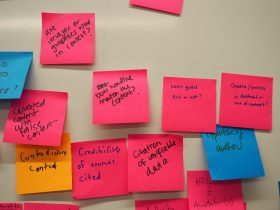 Post-its from workshop