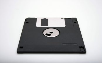 Photo of a floppy disk