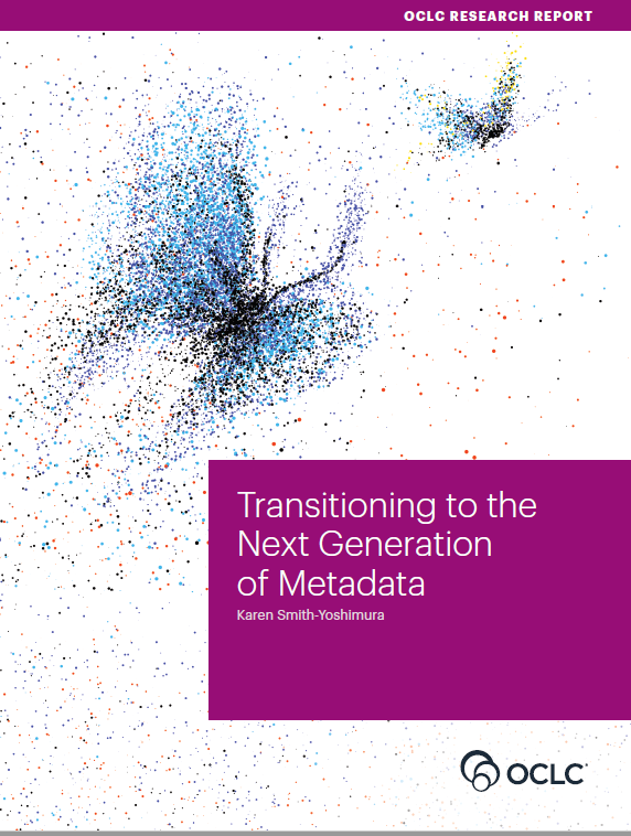Cover art for the Next Generation of Metadata report