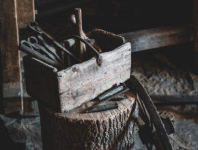 Blacksmith's toolbox
